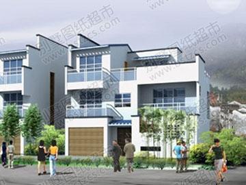 三层别墅建筑结构施工图纸_别墅设计图纸,农村房屋设计图,农村自建房