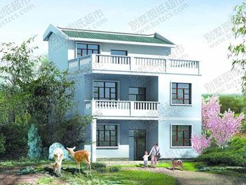 简单的二层半农村房屋设计_别墅设计图纸,农村房屋设计图,农村自建房图片