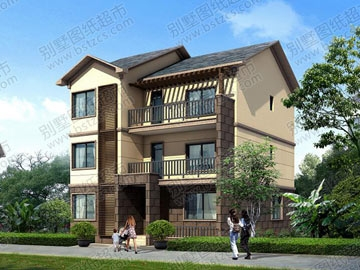 新农村三层自建房设计图纸_别墅设计图纸,农村房屋设计图,农村自建房