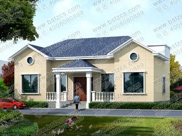 一层带阁楼农村房屋设计图_别墅设计图纸,农村房屋设计图,农村自建房