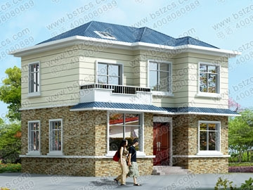 农村二层住宅图纸_别墅设计图纸,农村房屋设计图,农村
