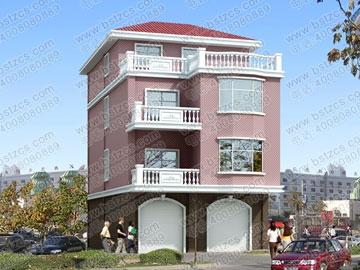 底层带门面的房屋设计施工图_别墅设计图纸,农村房屋设计图