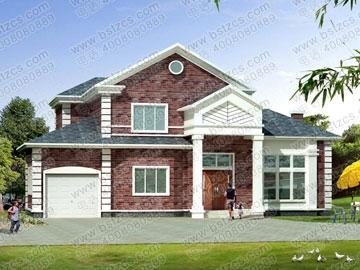 某框架结构别墅设计图_别墅设计图纸,新农村别墅,农村自建房设计