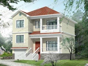 带地下室别墅设计图效果图_别墅设计图纸,新农村别墅