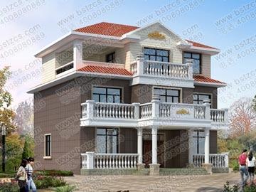 楼梯位置……农村房屋16x12米兄弟两拼两层半平面设计图/每户是8*12?