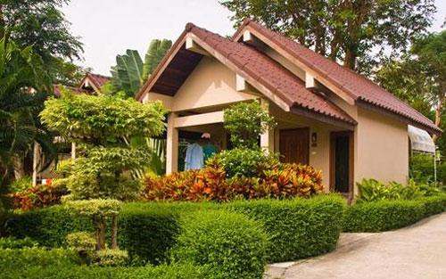 别墅庭院植物种植风水知识