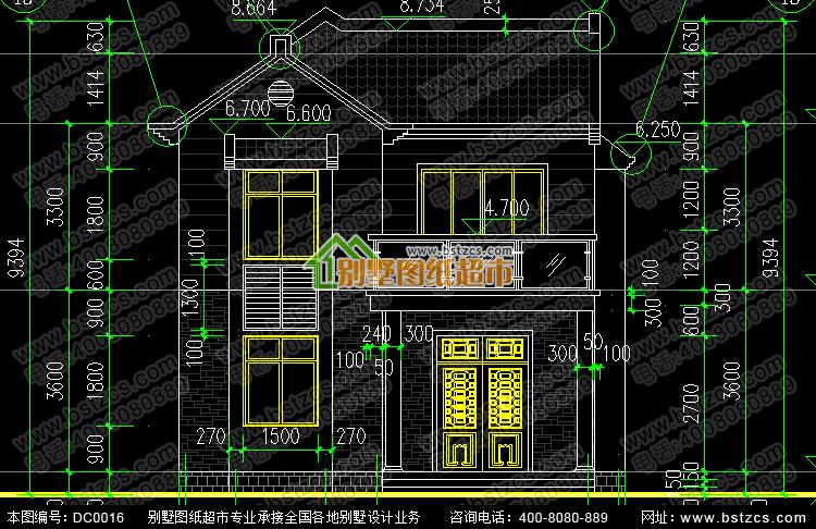 新農村住宅設計圖紙_別墅設計圖紙,新農村別墅,農村自建房設計