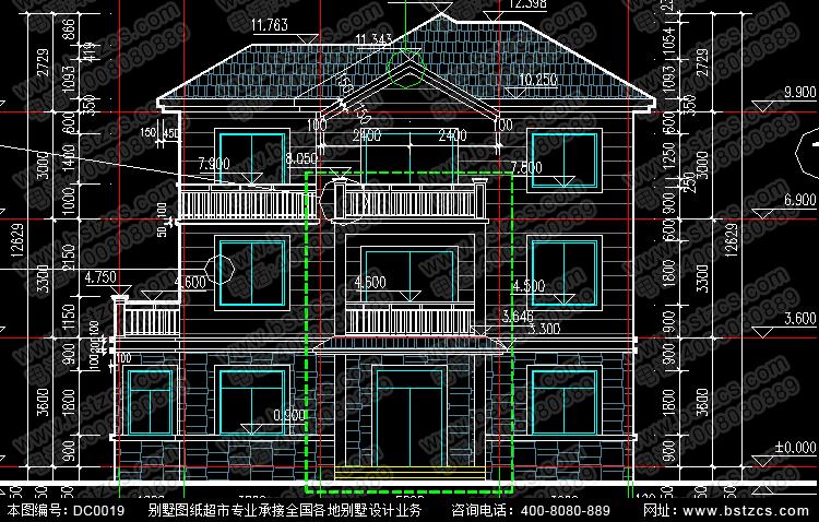 新農村住宅設計_別墅設計圖紙,新農村別墅,農村自建房設計
