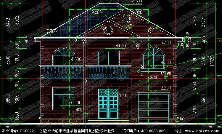 新农村住宅设计4_别墅设计图纸,新农村别墅,农村自建房设计