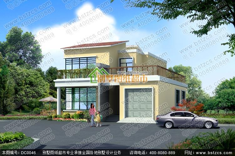 漂亮现代别墅_别墅设计图纸,新农村别墅,农村自建房设计