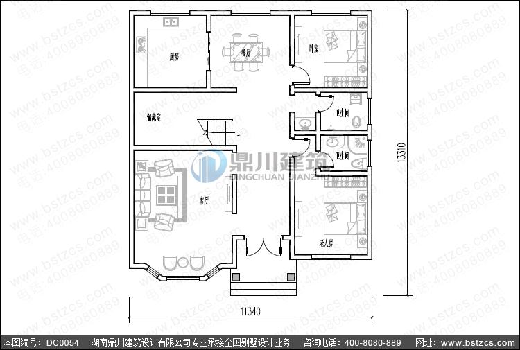 农村二层小别墅_别墅设计图纸,新农村别墅,农村房屋设计图