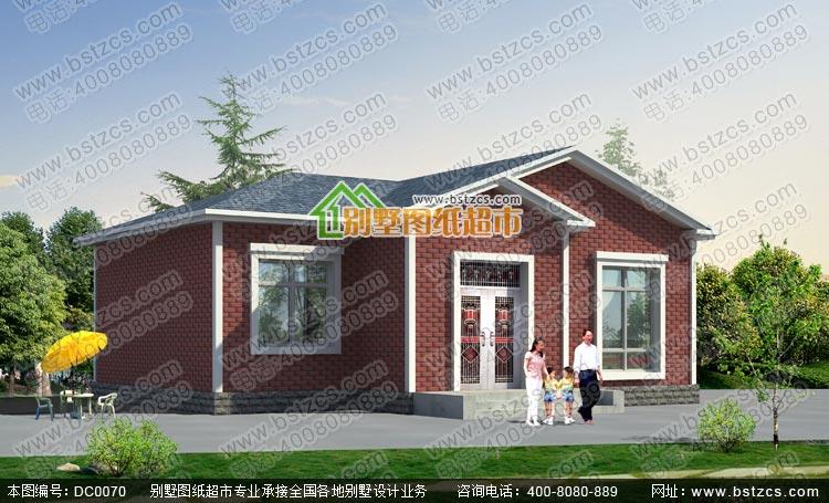 农村住宅施工图含效果图_别墅设计图纸,新农村别墅,农村自建房设计