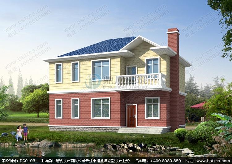 二层农村房屋设计图纸_别墅设计图纸,新农村别墅,农村