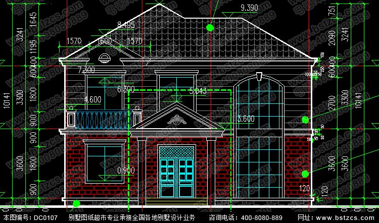 农村二层复式客厅住宅设计图_别墅设计图纸,新农村别墅,农村自建房
