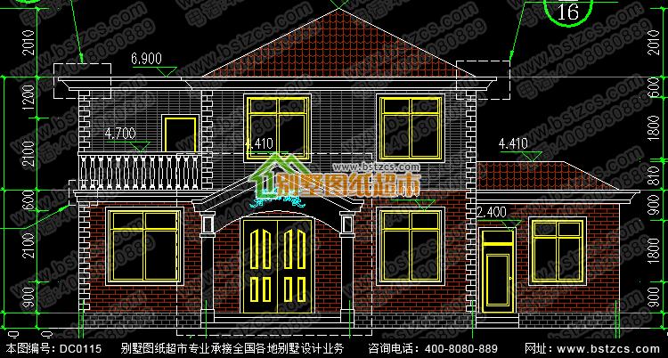 二層農村自建房設計圖紙_別墅設計圖紙,農村房屋設計圖,農村自建房