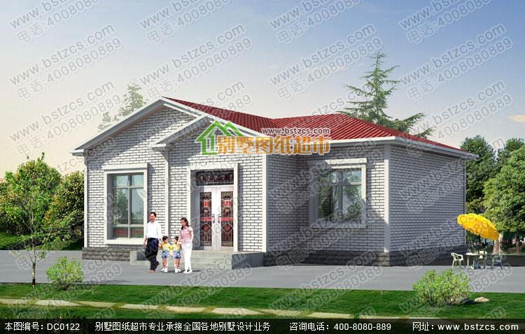 一层农村房屋设计图纸全套_别墅设计图纸,农村房屋设计图,农村自建房