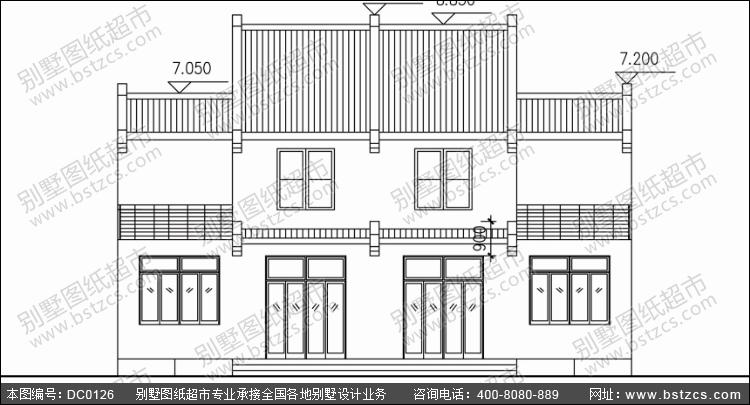 农村二层双拼房屋设计图_别墅设计图纸,农村房屋设计图,农村自建房