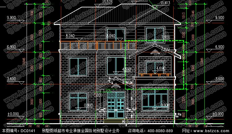 简单实用的新农村自建房设计图_别墅设计图纸,农村房屋设计图,农村自图片