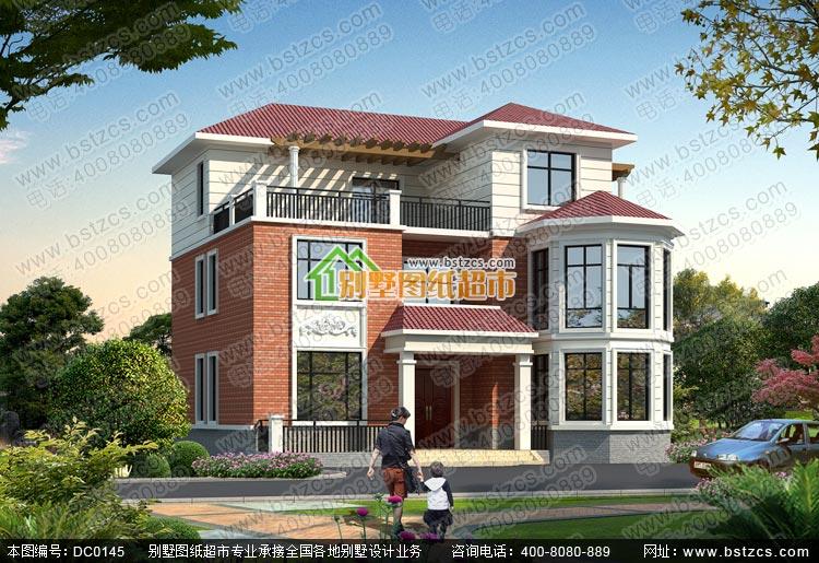 三层新农居全套施工图_别墅设计图纸,农村房屋设计图