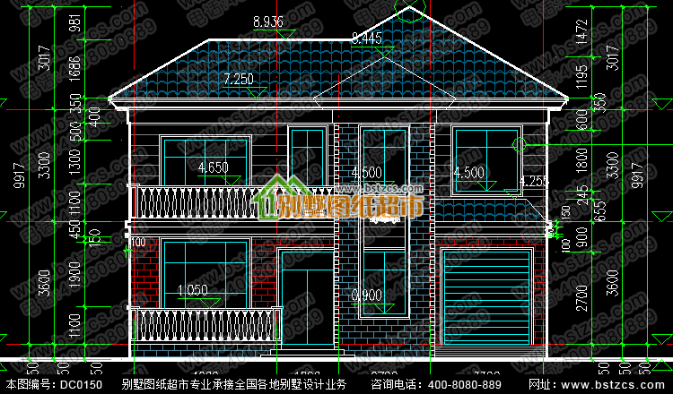 新农村住宅设计全套图纸_别墅设计图纸,农村房屋设计图,农村自建房