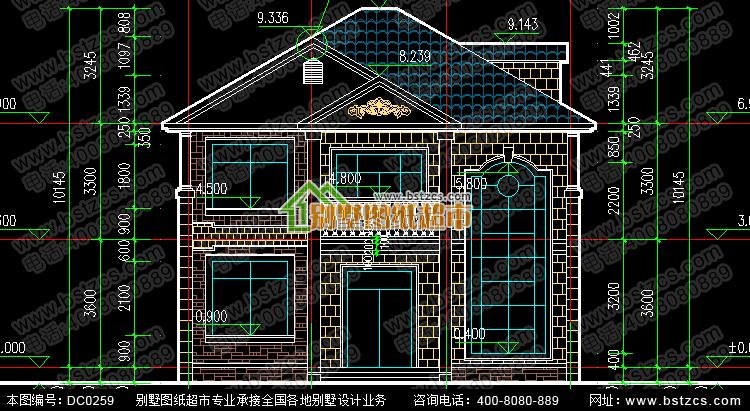 二层复式楼小别墅图纸_别墅图纸超市,农村自建房屋设计图