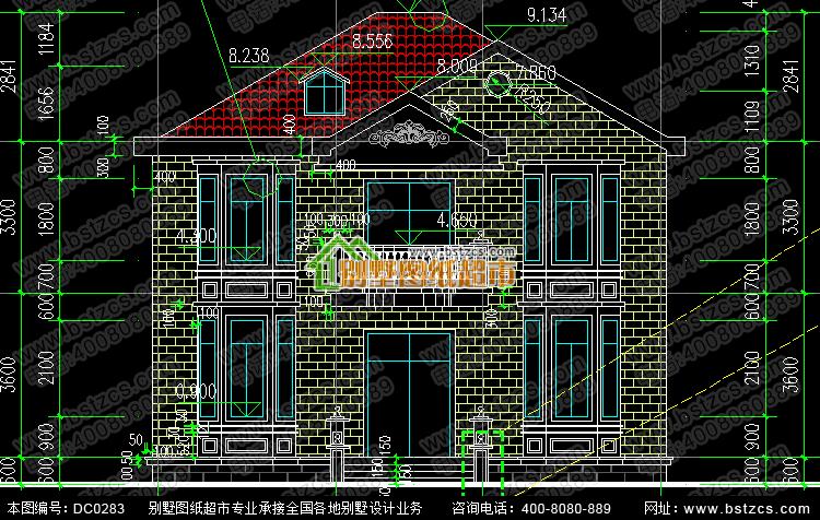 河南农村二层平顶房设计图展示