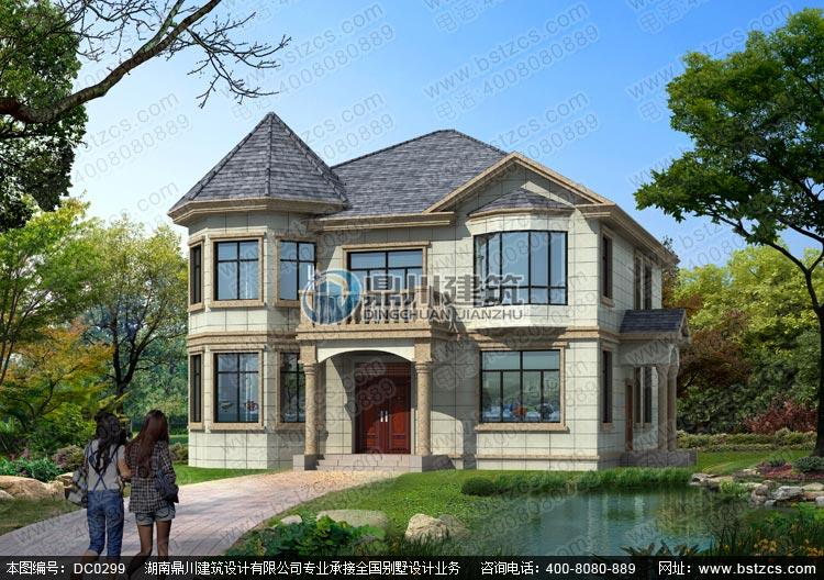 二层欧式小别墅设计图纸_农村房屋设计图,鼎川图纸超市
