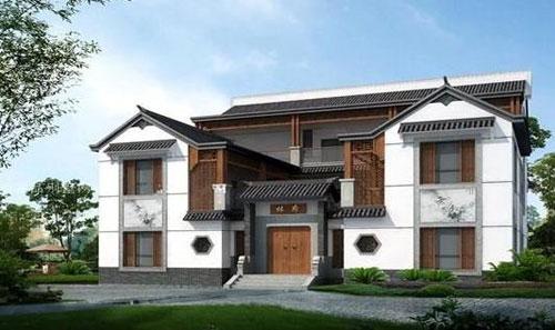 浅谈新农村自建别墅设计风格与特点