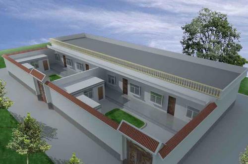农村自建房平房屋顶排水如何处理