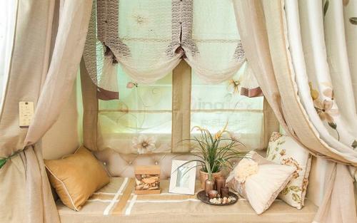 別墅裝修飄窗窗簾安裝的方法與優缺點
