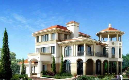 地中海风格别墅的设计特点