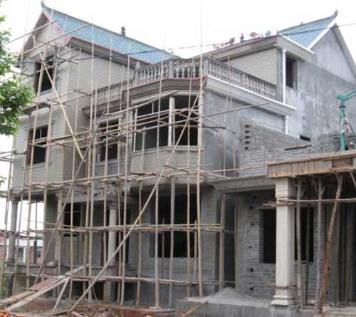 农村自建房施工流程