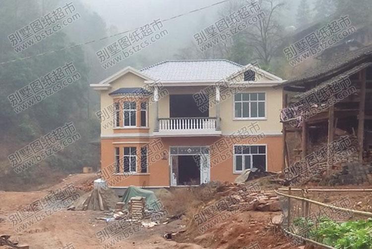 施工案例:实用农村二层小别墅设计_施工案例_别墅图纸