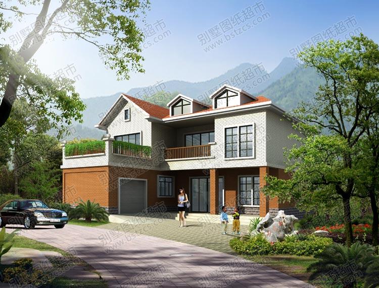 2017新农村别墅设计图 新农村别墅三层设计图_新农村