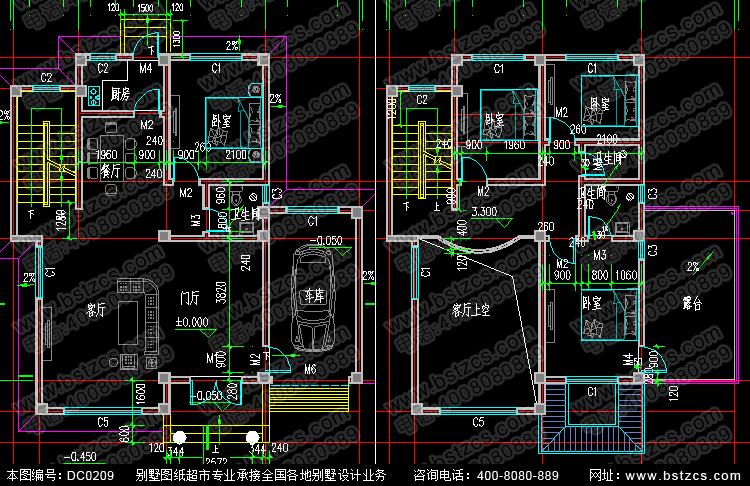 农村三层带露台自建房屋设计图_别墅图纸超市,农村房屋设计图
